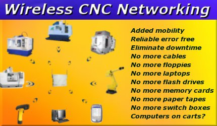Wireless CNC